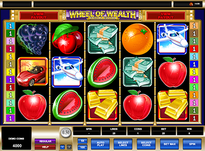 Wheel of Wealth видеослот онлайн