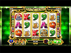 Игральный аппарат Casinomeister играть на интерес