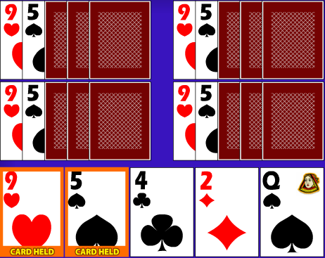 Poker variety with no draw