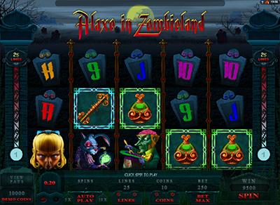 Играть онлайн в бесплатный игровой автомат alaxe in zombieland ставок скачать